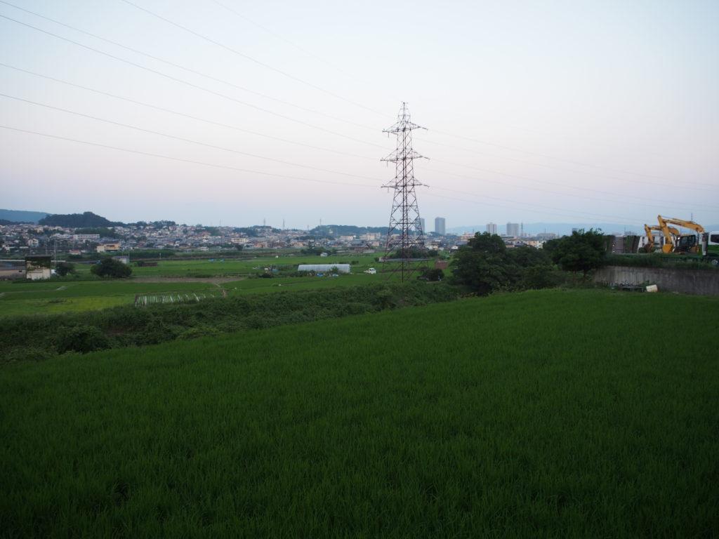 津の田ミートLODGE 風景が良い